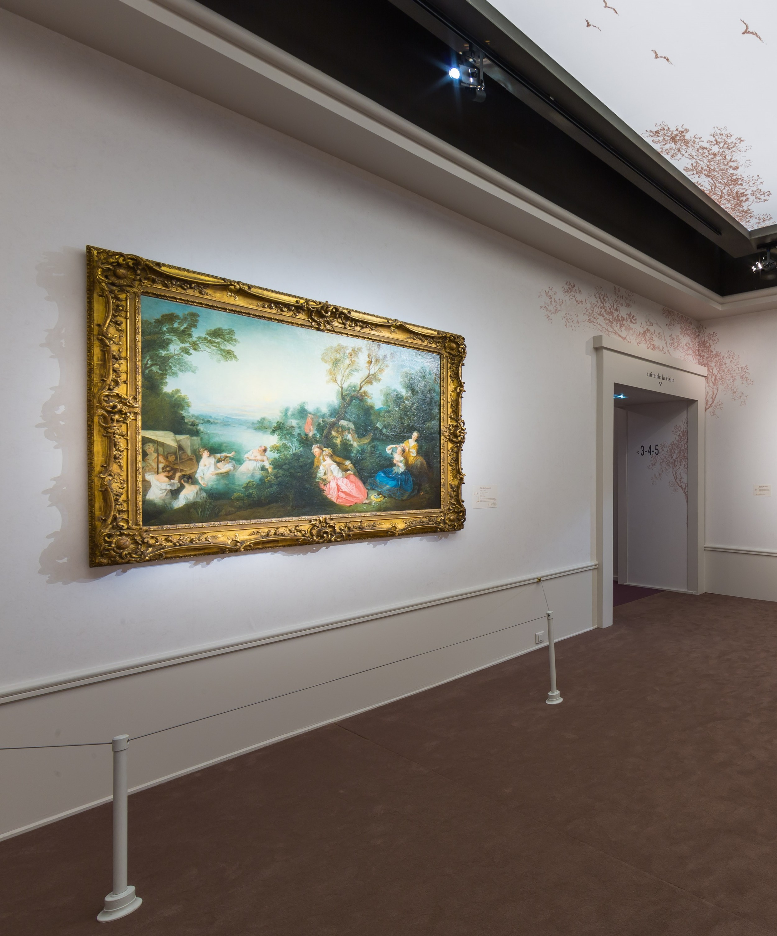 mus e jacquemart andr exposition de watteau fragonard les f tes galantes hubert le gall. Black Bedroom Furniture Sets. Home Design Ideas